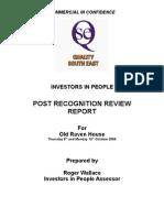 Old Raven House IiP Review Report - Standard Met October 2008 (6)