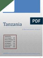 Tanzania - Macroeconomics