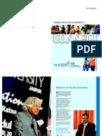 The IIS University (Propectus 2012) (1)