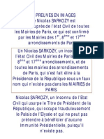 Nicolas SARKOZY Inconnu Des Mairies de Paris
