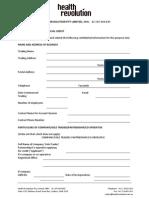 Health Revolution Pty Ltd Credit Application-2