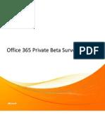 Sobia Tariq - Sample Survey Report From Office