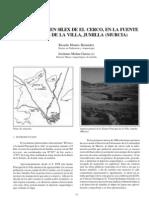 La industria de silex de El Cerco, en la Fuente Principal de la villa. Jumilla (Murcia).