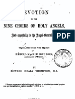 Devotion to the Nine Choirs of Holy Angels - by Henri-Marie Boudon