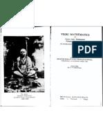 Vedic maths-Jagadguru