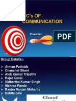 7 c of Communication
