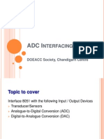 ADC Interfacing