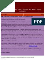 NAMHHR E-Newsletter, Issue 4