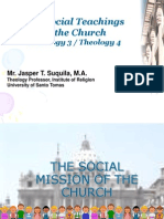 1st-The Social Mission of the Church