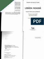 Lebada Neagra - N.N. Taleb