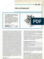 Kuriuskit KS380 - Protezione Per Altoparlanti