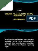 Pengajian AM STPM Baru - Pen Gen Alan
