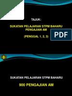 Pengajian AM STPM Baru - Penggal 1,2,3