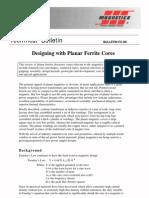 Fc-s8 Designing With Planar Ferrite Cores