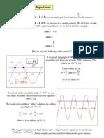 Basic Trigonometric Equations