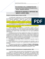 - InAP - Enfoque Del Marco Logico