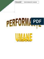 PERFORMANTE UMANE 2012