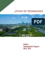 Undergraduate Bulletin 2010 2012