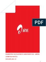 AIRTEL Marketing and Promotion