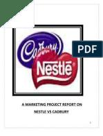 Synopsis of Nestle vs Cadbury Anil Mohit 7376335919