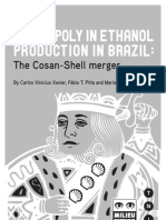 Ethanol Monopoly Brazil