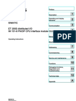 Et200s Im151 8 Pn Dp Cpu Operating Instructions en-US en-US[1]