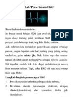 Skill Lab Pemeriksaan EKG