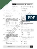 RPMT 2011 Question Paper Solutions
