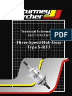 Sturmey Archer S RF3 Hub Instructions