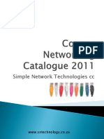 Simple Network Technologies Copper Networking Product Catalogue 2011 Cape Town South Africa , Africa02
