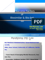 Key Success Factors of Biosimilars (eng)-중앙대