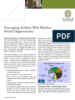 Revised Emerging Indian Mid-Market Hotel Opportunity 20-03-2007