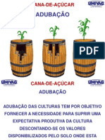 CANA -  ADUBAÇÃO