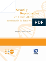 Salud Sexual y Reproductiva Chile 2007