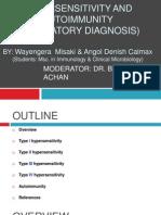 Hypersensitivity and Autoimmunity