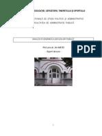 Suport de Curs Analiza Economica a Deciziilor Publice