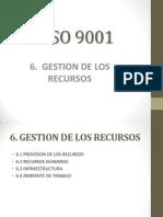 gestion de recursos - presentación