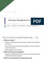 Strategic Management of Business-1