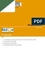 Proyectos Gestion Conocimiento y Atlas SBI