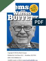 Gems From Warren Buffett - Sample Chapter 1