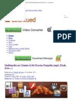 Multimedia No Ubuntu 12