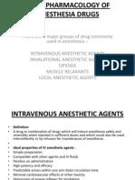 Basic Pharmacology of Anesthesia Drugs