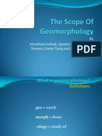Geomorphology Assignment
