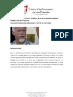 Conferencia de URI DAVIS en la Fundación Araguaney