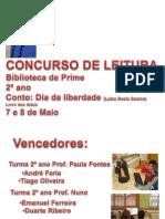 EB1 de Prime Concurso de Leitura Prime 2º ano 2012