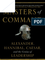 Masters of Command by Barry Strauss