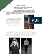 Resumo Fashion Rio