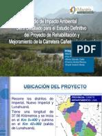 PPT Carretera Cañete Lunahuana