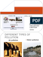 Environmental Act of 1986