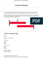 Ansys Contact Tut